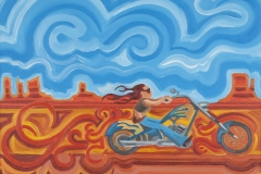 """""""Ridin'"""" from The Motorcycle Series"""